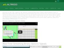 Live Binary Options Trading Signals  Binary Options Signals V2