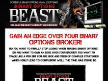 Profitable Binary Options Signals Software  Binary Options Beast