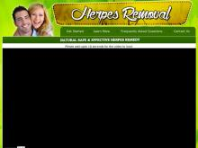 Herpes Removal  How To Cure Herpes Permanently  Herpes Removal