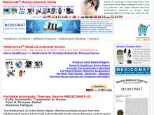 Portable Automatic Therapy Device  Medicomat  Portable Automatic Therapy Device Medicomat21