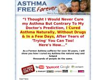 Asthma Free Forever  How to Cure Asthma Easily, Naturally and Forever  Asthma Free Forever