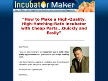 Incubator Maker  How to Make a HighQuality, HighHatchingRate Incubator with Cheap Parts  Incubator Maker