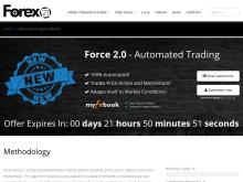 Forex21 | Forex Force Expert Advisor  Forex Force 20  Discounted