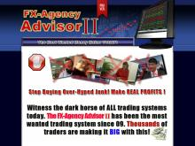 FXAgency Advisor II | Forex System | Foreign Exchange Trading  FXAgency Advisor II  SPECIAL PRICE