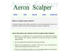 True Scalper Forex Robot by Aeron  Aeron Scalper Forex Robot