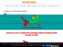 Loss Recovery Trader Expert Advisor  The Forex Cabin  Loss Recovery Trader Expert Premium Version