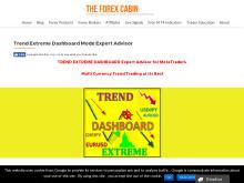 Trend Extreme Dashboard Mode Expert Advisor  The Forex Cabin  Trend Extreme Dashboard Mode Expert Advisor