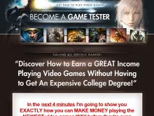 Become A Game Tester Start Making Money Playing Games Now  Complete Become A Game Tester Course