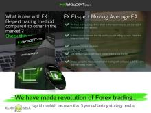 FX Ekspert Moving Average EA