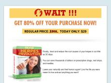 exit page | Home Herpes Revolution | Treatment Of Herpes Forever  Home Herpes Revolution Discount