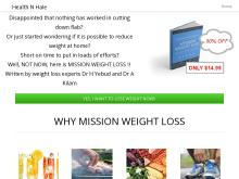 Health N Hale  MISSION WEIGHT LOSS