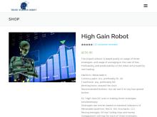 High Gain Robot – Trend Scalper Robot  High Gain Robot