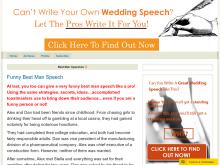 Funny Best Man Speech Book