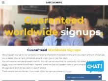 100 Guaranteed Signups Monthly
