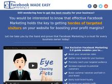 Facebook Marketing 20 Made Easy  FaceBook Marketing Made Easy