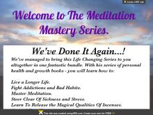 Learn How To Meditate  Meditation Mastery Guide  Meditation Mastery Series