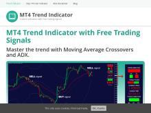 TrendViper  MT4 Trend Indicator with Signals  Single Licence