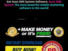 Auto Sms System The Most Powerful Mobile Marketing Software