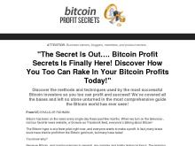 Special Limited Time Offer  Bitcoin Profit Secrets