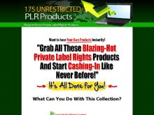 175 Bargain PLR Products
