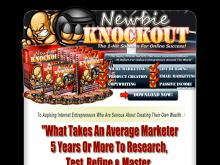 Newbie Knockout  Training Courses For Internet Marketing