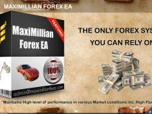 MaxiMillian Forex EA – The only Forex Automated System you can rely on  Maximillian FX EA, 1 License