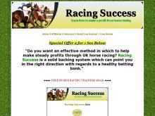 Racing Success | Racing Success System | Racing Winners  Racing Success