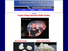 caucasus kefir grains  Water Kefir Grains