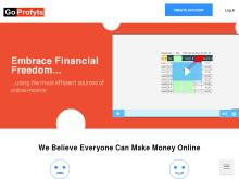 GoProfyts | World #1 Online Money Making Program