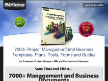 PM Milestone by  7000 Project Management and Business Templates  PM Milestone  7000 Project Management and Business Templates