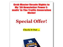 30 Power Newsletter Emails In The Traffic Generation Niche  Ramzi Bouchrit Inernational Publishing  30 Newsletter Power email In The Traffic Generation Niche