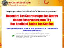 Tu Carta Astral Personal interpretada por Astrologa y Vidente  Carta Astral Personalizada