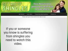 Get Rid Of Shingles  How To Get Rid of Shingles