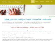 Online Jobs Part Time Jobs Work From Home Based Jobs Philippines  Philippines Net Jobs