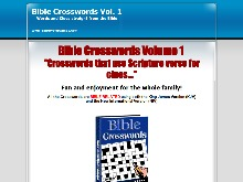 Bible Crosswords Ebook  Bible Crosswords Volume 1