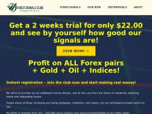 join now – trial — Forex Signals Club  Forex Signals Club Trading Signals  2 weeks trial