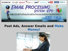 Email Processing jobs system Legitimate work from home job 2019 how to make money online 2020  EPS Email Processor