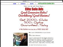 2016 MARKS ELITE SOLO ADS  YOU'LL GET 2000 CLICKS/500 LEADS GUARANTEED  MARKS ELITE SOLO ADS  100 UNIQUE CLICKS/20 OPTINS GUARANTEED