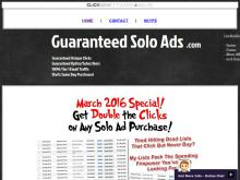 MattsGuaranteedSoloAds  500 Clicks/150 Optins Guaranteed (100% USA Traffic)