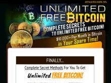 NEW 2018  Unlimited Free Bitcoins  Turn $20 Into $10,000 Per Month In BitCoin  UNLIMITED FREE BITCOINS eBOOK